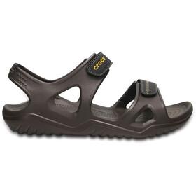 Crocs Swiftwater River Miehet sandaalit , ruskea